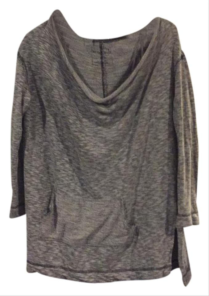 0f80f0c9fa71 Free People Seamed Off The Shoulder Sweatshirt Grey Sweater. Size: 10 ...
