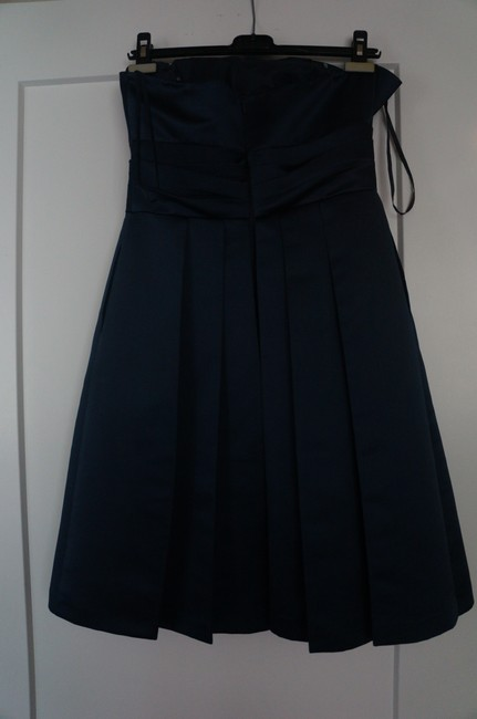 Priscilla of Boston Pleated Strapless Bridesmaid Dress Image 3