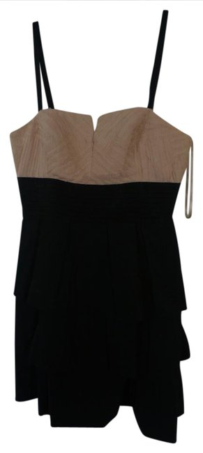 Preload https://img-static.tradesy.com/item/20851272/bcbgmaxazria-blackivory-bcbg-short-cocktail-dress-size-4-s-0-1-650-650.jpg