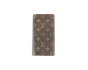 Louis Vuitton Porte Cartes Credit Monogram Canvas Leather Long Wallet w/ Tags