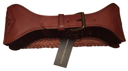 Preload https://img-static.tradesy.com/item/20851285/french-connection-tan-wide-leather-weave-belt-0-1-540-540.jpg