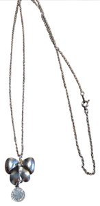 Marc by Marc Jacobs Silver Marc By MJ Bow Necklace