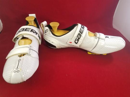 Gaerne Cycling Cleats Carbon Fiber WHITE Athletic Image 3