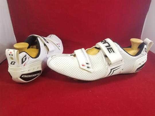 Gaerne Cycling Cleats Carbon Fiber WHITE Athletic Image 4