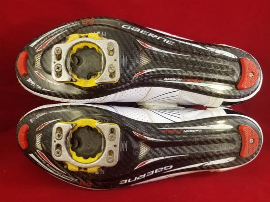 Gaerne Cycling Cleats Carbon Fiber WHITE Athletic Image 7