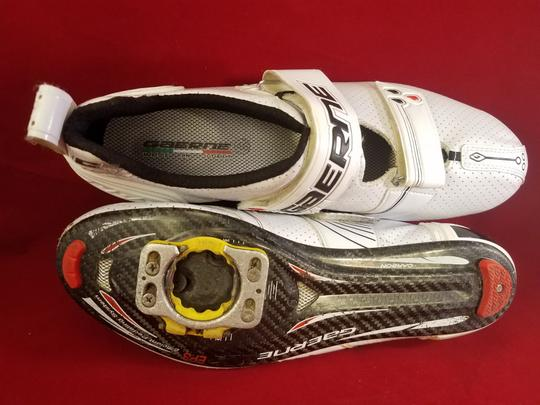 Gaerne Cycling Cleats Carbon Fiber WHITE Athletic Image 9