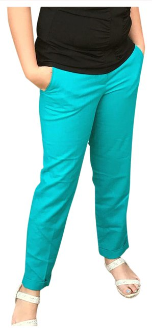 Preload https://img-static.tradesy.com/item/20851600/jcrew-blue-green-turquoise-wool-flat-front-capris-size-0-xs-25-0-1-650-650.jpg