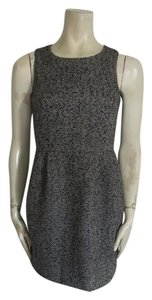 J.Crew short dress GRAY BLACK on Tradesy