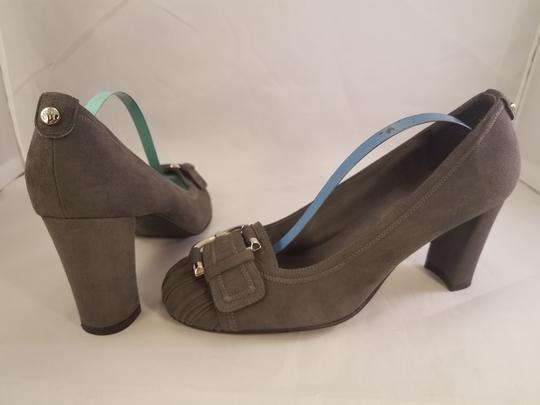 Stuart Weitzman Suede High Heels GRAY Pumps Image 4
