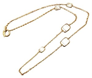 Salvatore Ferragamo Vara Station Necklace