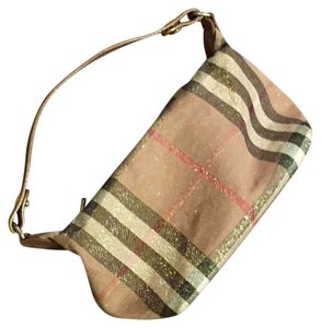 Burberry Satchel in patterned