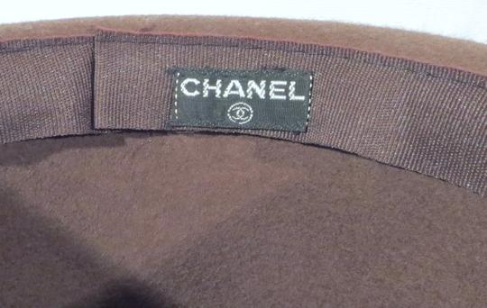 Chanel 1980s Chanel 'Ladylike' Felt Hat with Bow Image 2