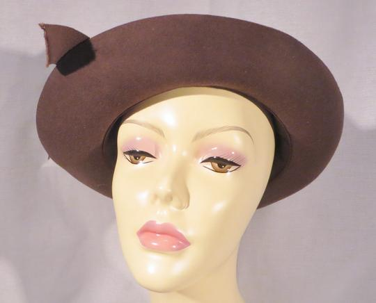 Chanel 1980s Chanel 'Ladylike' Felt Hat with Bow Image 3