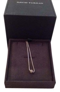 David Yurman David Yurman pave ball 16 inch necklace