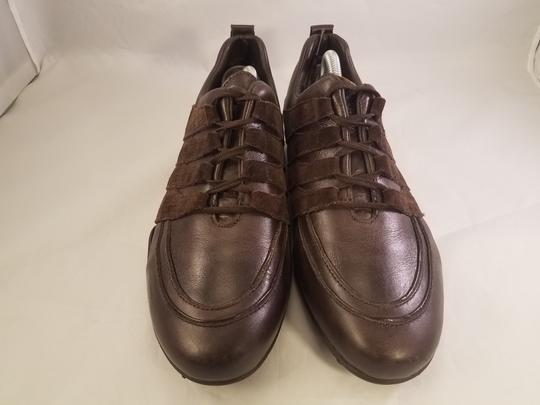 Mephisto Leather Walking BROWN Athletic Image 1