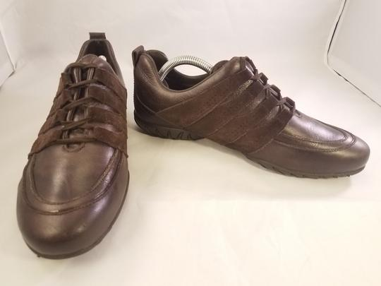 Mephisto Leather Walking BROWN Athletic Image 3