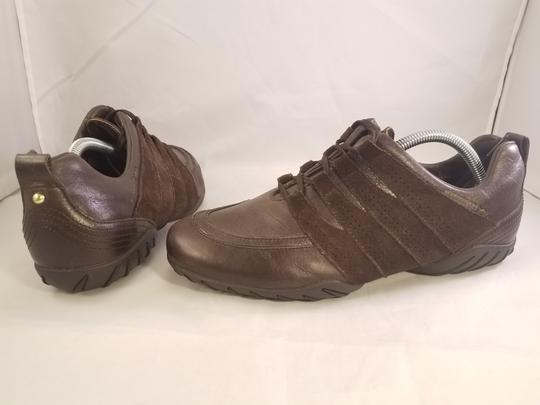Mephisto Leather Walking BROWN Athletic Image 4