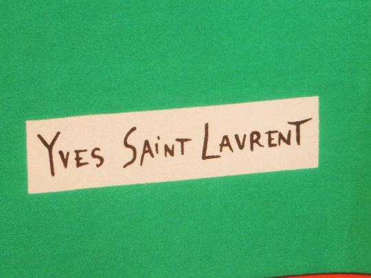 Saint Laurent Vintage Yves Saint Laurent Silk Scarf - Mint Condition - Origina Image 1