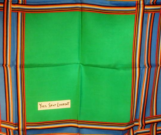 Saint Laurent Vintage Yves Saint Laurent Silk Scarf - Mint Condition - Origina Image 2