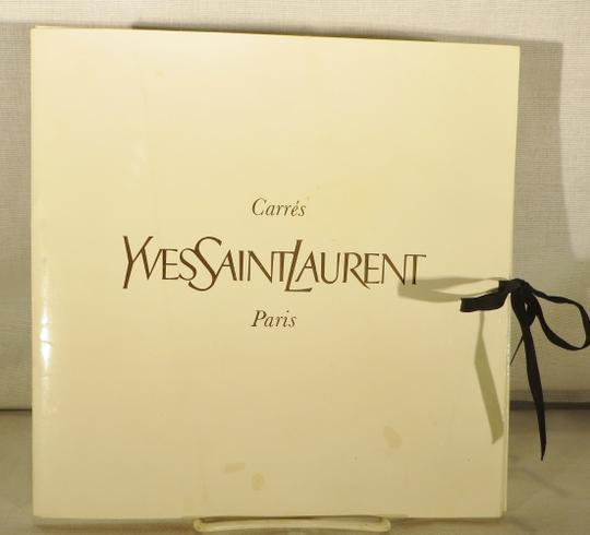 Saint Laurent Vintage Yves Saint Laurent Silk Scarf - Mint Condition - Origina Image 4