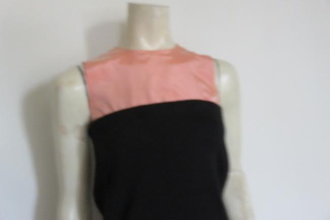 Balenciaga short dress BLACK/PALE PEACH on Tradesy Image 2