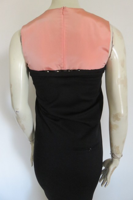 Balenciaga short dress BLACK/PALE PEACH on Tradesy Image 3