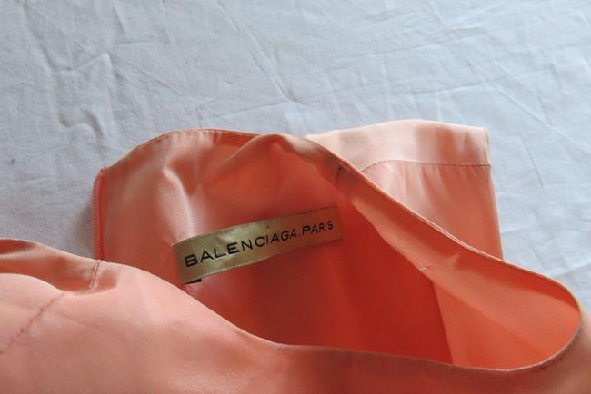 Balenciaga short dress BLACK/PALE PEACH on Tradesy Image 5