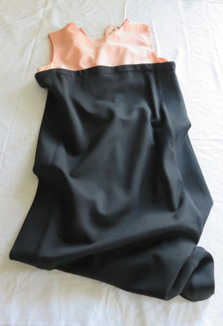 Balenciaga short dress BLACK/PALE PEACH on Tradesy Image 7
