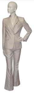 Gucci GUCCI Ivory Pinstripes Suit New!!!