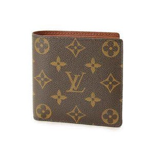 Louis Vuitton Classic Monogram Canvas Marco Bifold Wallet With Coin Pocket