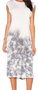 NYTT short dress White and Tye-Dye on Tradesy