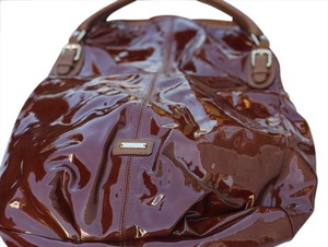 Max Mara Handbag Patent Leather Hobo Bag