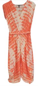 peach/cream Maxi Dress by Charlie jade