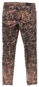 Else Metallic Copper Skinny Skinny Pants Multi
