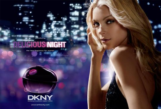 DONNA KARAH DKNY DELICIOUS NIGHT BY DONNA KARAH--MADE IN SWIZERLAND Image 1
