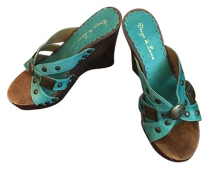 Diego di Lucca Turquoise , brown. Platforms