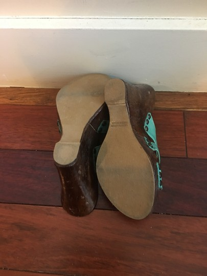 Diego di Lucca Turquoise , brown. Platforms Image 1