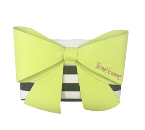 Betsey Johnson Citron Clutch