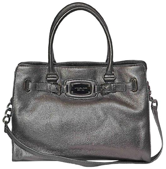 430d57291d1a Michael Kors Hamilton Tote Silver Hardware | Stanford Center for ...