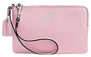 Coach 889532150519 Light Pink F53429 Wristlet in Petal