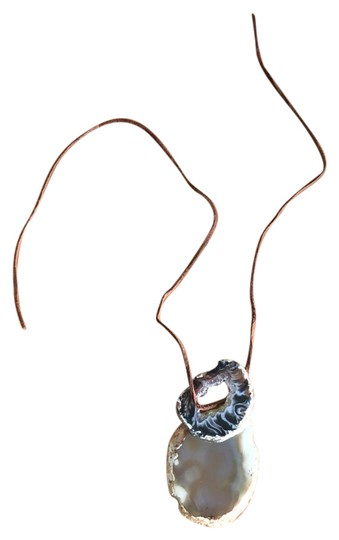 Preload https://img-static.tradesy.com/item/20853010/tan-and-brown-x-necklace-0-2-540-540.jpg