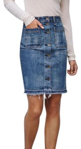 Rag & Bone Jean Jeans Denim Skirt