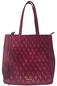Vera Bradley Quilted Leah Leather Tote