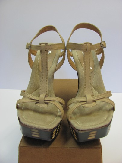 Two Lips Design Size 9.00 M Very Good Condition Neutral, Brown, Platforms Image 2