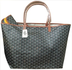 Goyard Saint Louis St Louis Gm Tote in Black