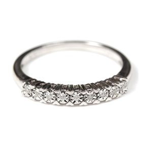 Other Sterling Silver Diamond Band
