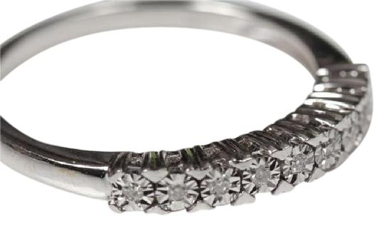 Other Sterling Silver Diamond Band Image 1