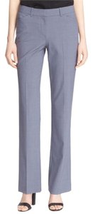 Theory Blue Gray Custom Max Wool Suit Trouser Pants