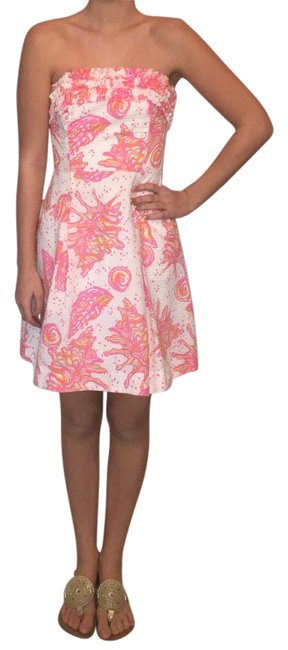 Preload https://img-static.tradesy.com/item/20853583/lilly-pulitzer-pink-white-and-hint-of-yellow-strapless-short-casual-dress-size-0-xs-0-3-650-650.jpg