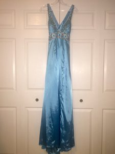 Tony Bowls Blue Dress